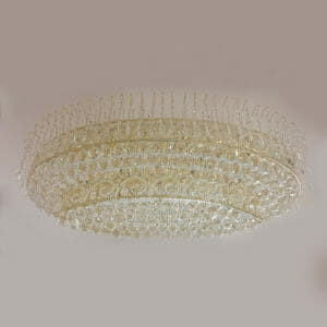 โคมไฟคริสตัล, โคมไฟเพดาน, โคมไฟติดผนัง, Ceiling
