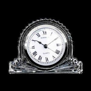 นาฬิกาคริสตัลตั้งโต๊ะ